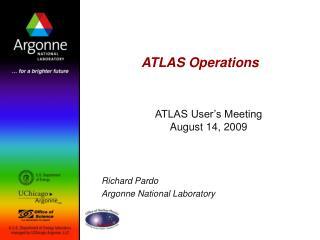 ATLAS Operations