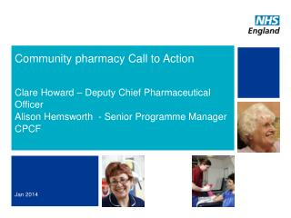 Community pharmacy Call to Action