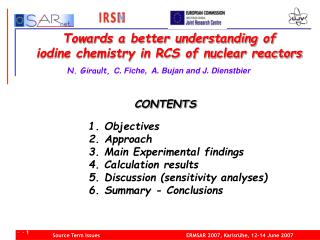 Towards a better understanding of  iodine chemistry in RCS of nuclear reactors