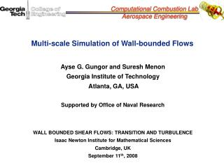Multi-scale Simulation of Wall-bounded Flows