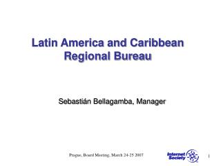 Latin America and Caribbean Regional Bureau