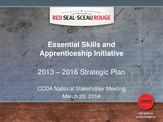 Essential Skills and Apprenticeship Initiative