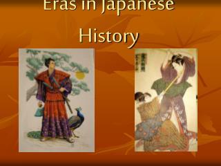 Eras in Japanese History