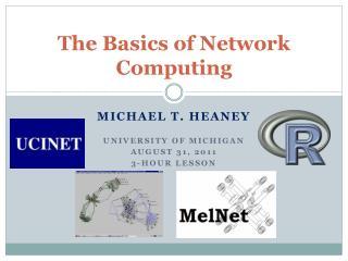 The Basics of Network Computing