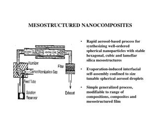 AEROSOL-EISA MESOSTRUCTURED NANOCOMPOSITES
