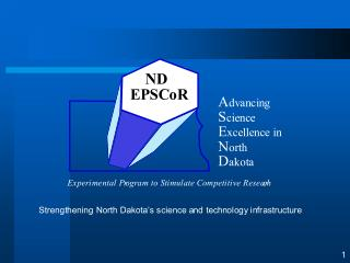 Historical Development of National Academic Research Enterprise