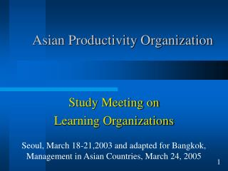 Asian Productivity Organization