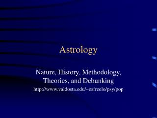 Astrology Nature