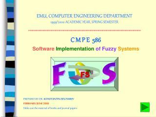 EMU, COMPUTER ENGINEERING DEPARTMENT 1999/2000 ACADEMIC YEAR, SPRING SEMESTER