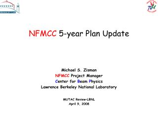 NFMCC  5-year Plan Update