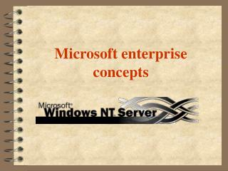 Microsoft enterprise concepts