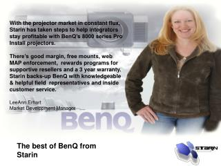 The best of BenQ from Starin