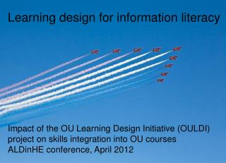 Learning design for information literacy