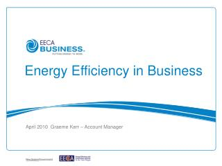 Energy Efficiency in Business