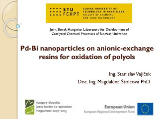 Pd-Bi nanoparticles  on  anionic-exchange resins for oxidation of polyols