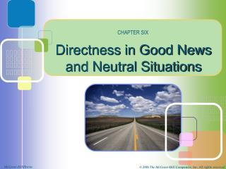 Directness in Good News and Neutral Situations
