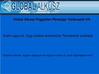 Global Alkusz Független Pénzügyi Tanácsadó Kft