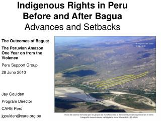 Indigenous Rights in Peru  Before and After Bagua Advances and Setbacks