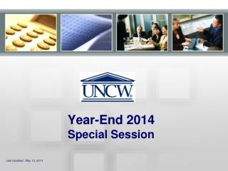 Year-End 2014 Special Session