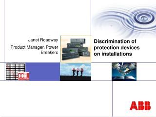 Discrimination of protection devices on installations