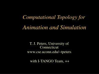 Computational Topology for