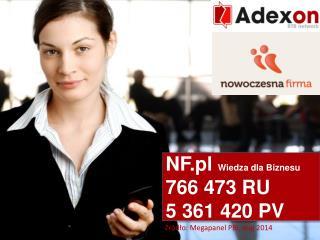 NF.pl w ofercie  Adexon