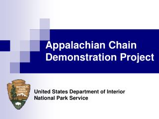Appalachian Chain Demonstration Project