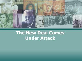 The New Deal Comes Under Attack