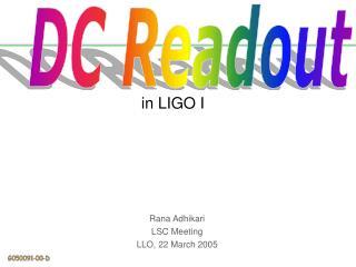 in LIGO I