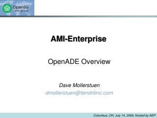 OpenADE Problem Statement Existing Solutions Standardization Process