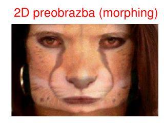 2D preobrazba (morphing)