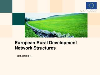 European Rural Development Network Structures