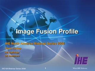 Image Fusion Profile