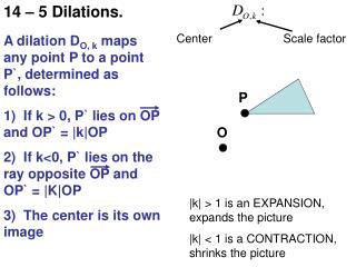 14 – 5 Dilations.