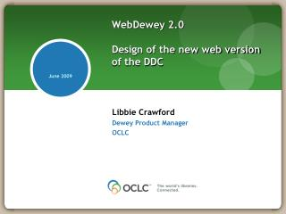 WebDewey 2.0 Design of the new web version of the DDC