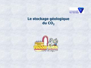 Le stockage géologique  du CO 2