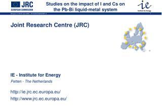 Studies on the impact of I and Cs on the Pb-Bi liquid-metal system