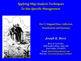 Part 1: Mapped Data, Collection,  Visualization and Summary