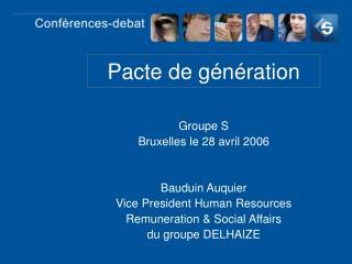 Pacte de génération