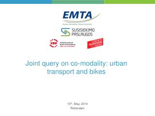 Joint query on co-modality: urban transport and bikes