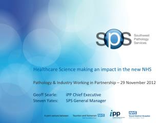 Healthcare Science making an impact in the new NHS