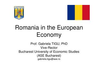 Romania in the European Economy