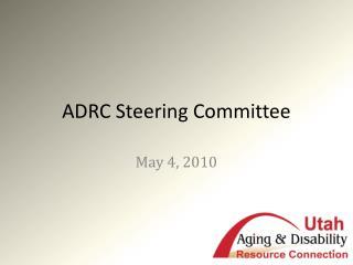 ADRC Steering Committee