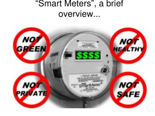 """"""" Smart Meters """" , a brief overview..."""