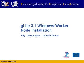 gLite 3.1 Windows Worker Node Installation