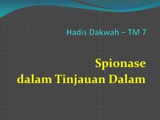 Hadis Dakwah – TM 7