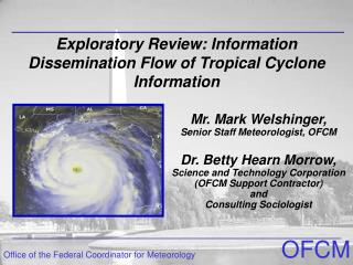 Exploratory Review: Information Dissemination Flow of Tropical Cyclone Information