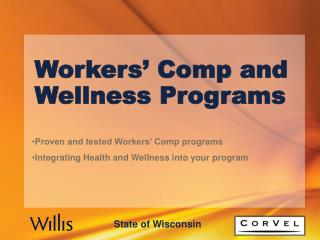 Workers  Comp and Wellness Programs