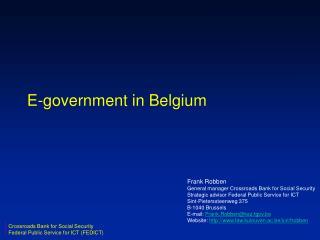 E-government in Belgium
