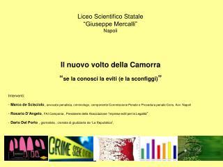 """Liceo Scientifico Statale  """"Giuseppe Mercalli"""" Napoli"""